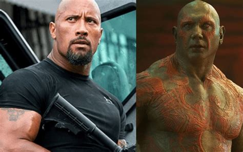 Guardians of the Galaxy  Star Dave Bautista Claims Dwayne ...
