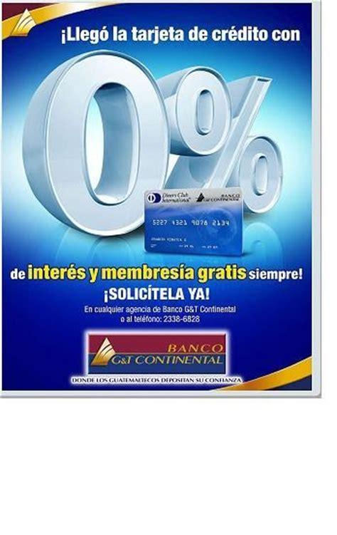 Guatemala Empresarial: Banco G & T Continental lanza una ...