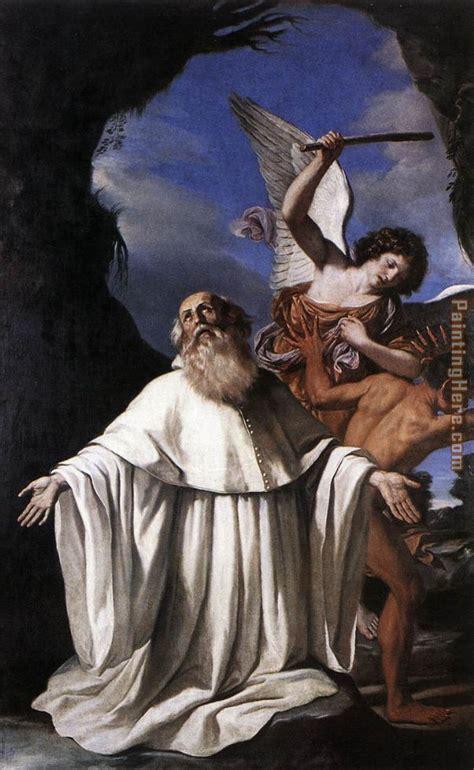 Guercino St Romuald painting anysize 50% off   St Romuald ...