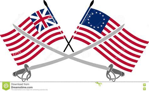 Guerra De Independencia Americana Ilustración del Vector ...