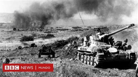 Guerra de los Seis Días: el conflicto relámpago ocurrido ...