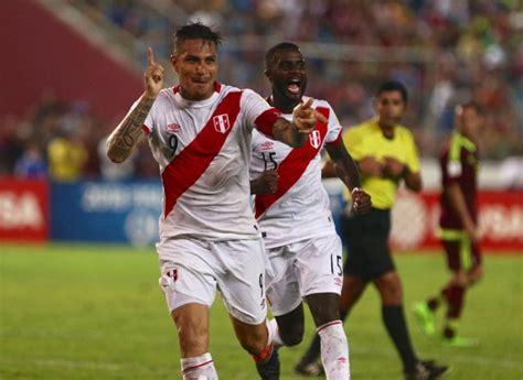 Guerrero lidera la prelista de Perú   Versus