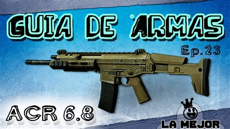 Guia de Armas MW3   ACR 6.8   YouTube