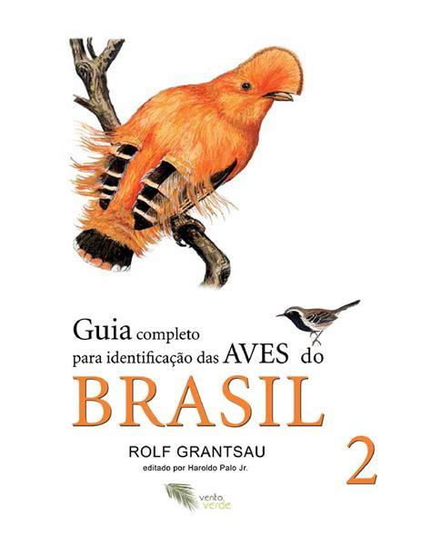 Guia de Identificação das Aves Brasileiras   Vol 2   Rolf ...