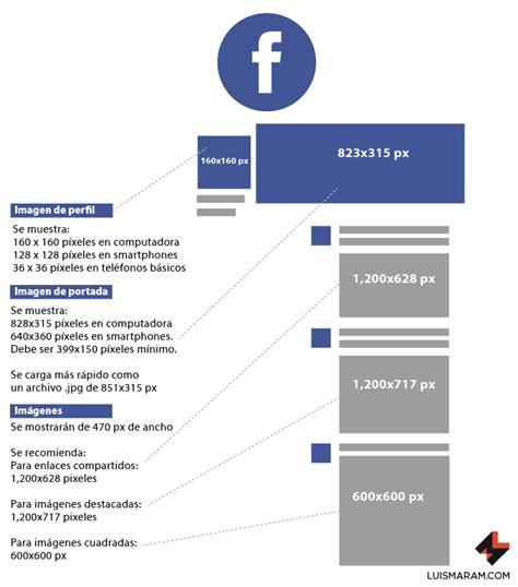 Guía de tamaños de imágenes en redes sociales 2017   luisMARAM