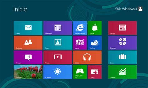 Guía de Windows 8  2 : Nueva pantalla de Inicio y ...