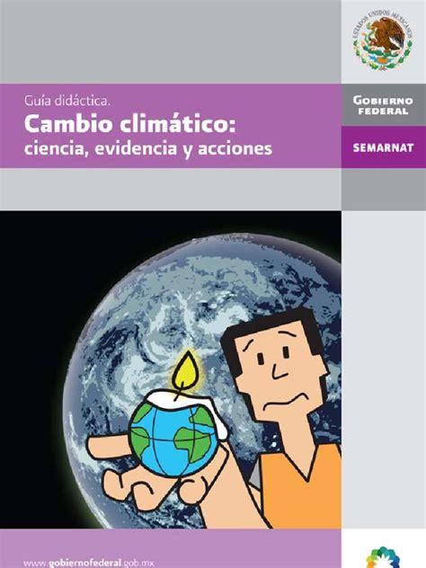 Guia Didactica Cambio Climatico   Clima   Educación primaria
