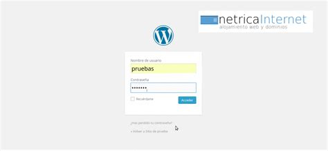 Guias WordPress: cómo acceder o entrar a tu panel ...