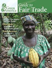 Guide to Fair Trade. List a bunch of different industries ...