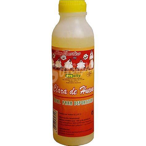 Guillem clara de huevo líquida pasteurizada Botella 300 ml