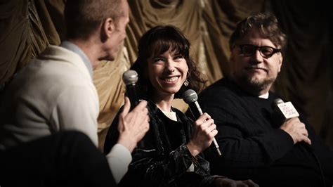 Guillermo Del Toro  and Cast  Drink in 'The Shape of Water ...