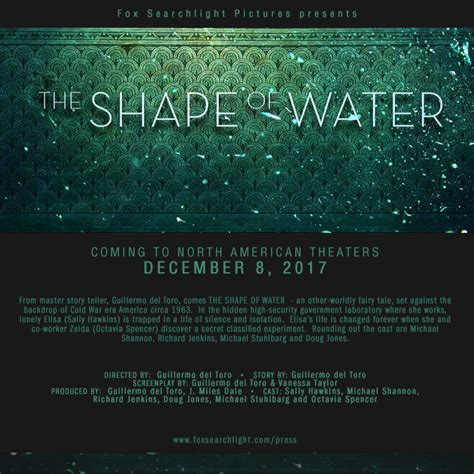 Guillermo Del Toro's 'Shape Of Water' Gets December ...