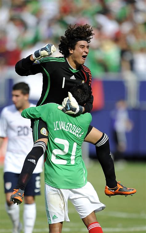 Guillermo Ochoa in CONCACAF Cup   Championship Match   Zimbio