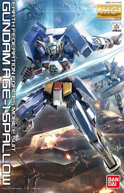 Gundam Age 1 Spallow 1/100 Master Grade  With images ...