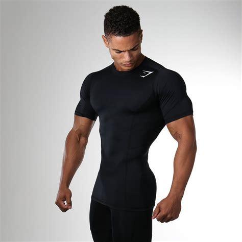 Gymshark Element Compression T Shirt   Black at Gymshark ...