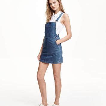 H&M Denim Bib Overall Dress $15 from H&M | To The 9 s