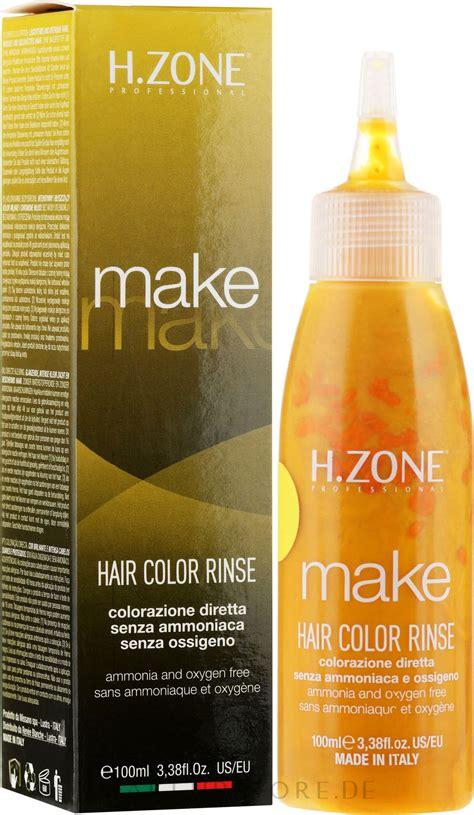 H.Zone Make Up Hair Color Rinse   Ammoniakfreie Haarfarbe ...