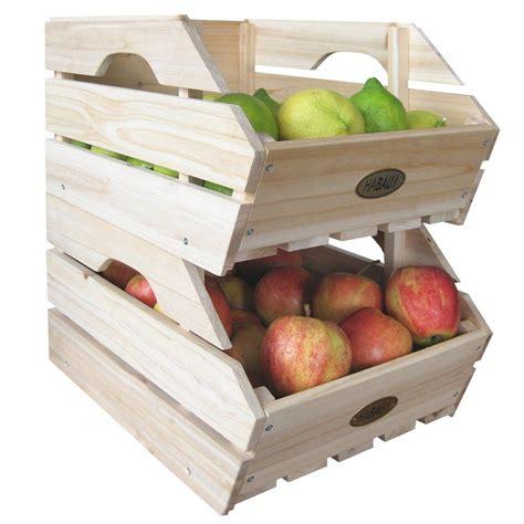 Habau 617   Cajas de almacenaje para apilar  madera, 3 ...