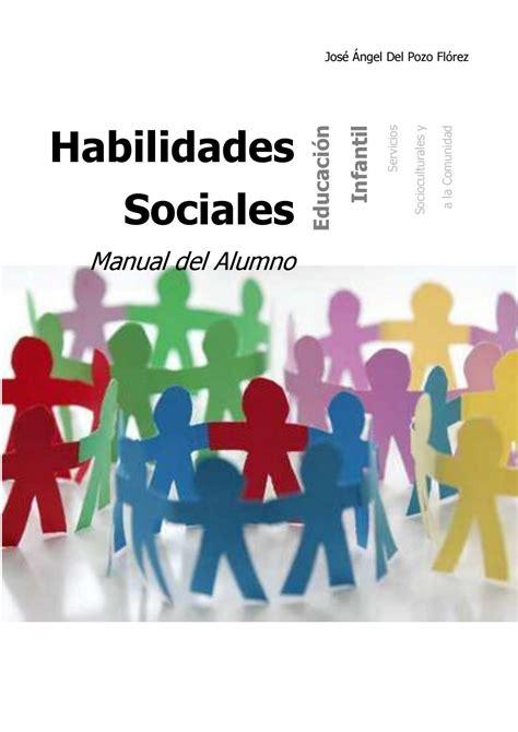 Habilidades sociales manual alumno. by Kam   Issuu