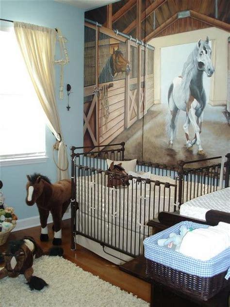 habitacion bebe caballos 1 | Animales en 2019 | Baby ...