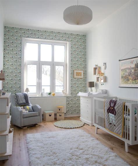 Habitación bebe de estilo nórdico   Mamidecora.com