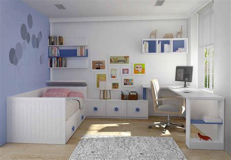 Habitación cama nido infantíl blanca   Muebles Xikara