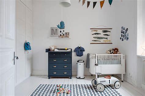 Habitación de Bebé en estilo nórdico con pequeños detalles ...
