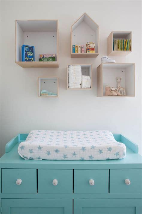 Habitación de bebé en estilo nórdico