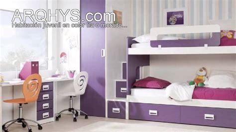 Habitación juvenil en color lila o morado   YouTube