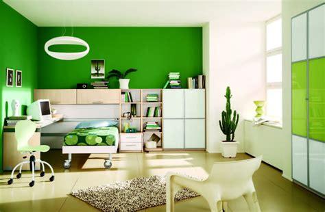Habitación moderna de tonos verdes :: Imágenes y fotos