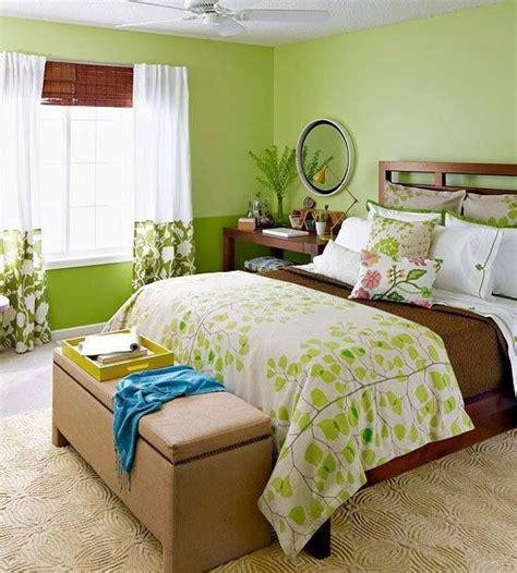 Habitacion verde | Decoracion de interiores
