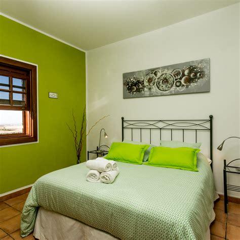 Habitación Verde en alquiler B&B Villa el Jable Lanzarote