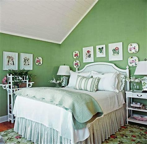 Habitaciones color verde   Ideas para decorar dormitorios