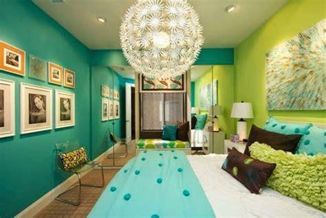 Habitaciones en verde y turquesa   Ideas para decorar ...