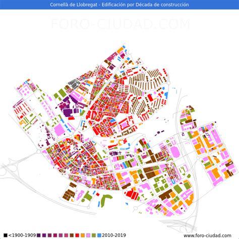 Habitantes Cornellà de Llobregat 1900 2020