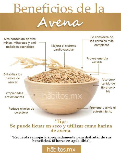 Hábitos Health Coaching   BENEFICIOS DE LA AVENA
