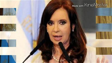 HABLA LA PRESIDENTA DE LA ARGENTINA   YouTube