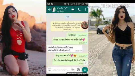 Hablando con una falsa o real Kenia Os?   YouTube