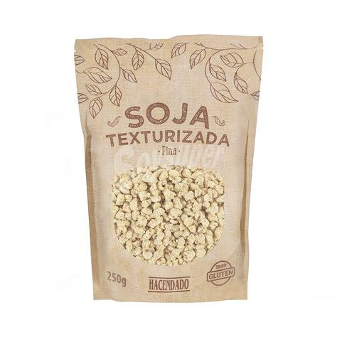 Hacendado Soja texturizada  grano fino  Paquete 250 g