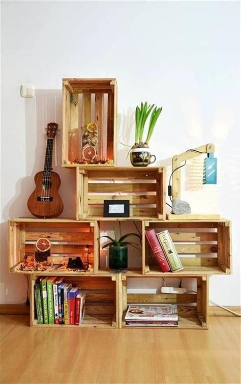 Hacer muebles con cajas de madera. Cajones de madera para ...