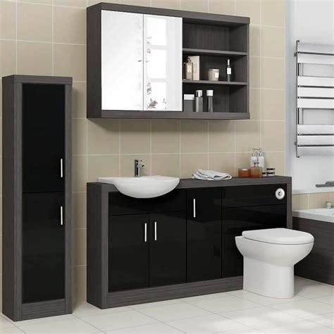Hacienda 1500 Fitted Furniture Pack Black Buy Online At ...