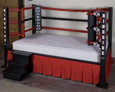haha boxing ring bed, clever | Kids twin bed, Sport ...