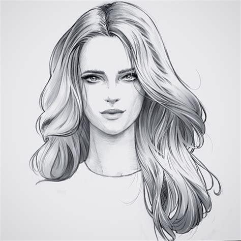 Hair   Female | Fashion illustration hair, Sketch design ...