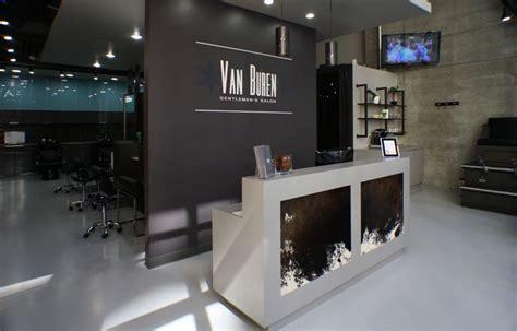 hair salon reception area   Van Buren Gentlemen s Salon ...