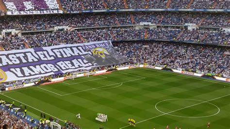Hala Madrid y nada más en el Estadio Santiago Bernabéu ...