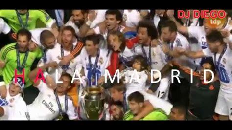 HALA MADRID Y NADA MAS. HIMNO 10ª CHAMPIONS EN KARAOKE ...