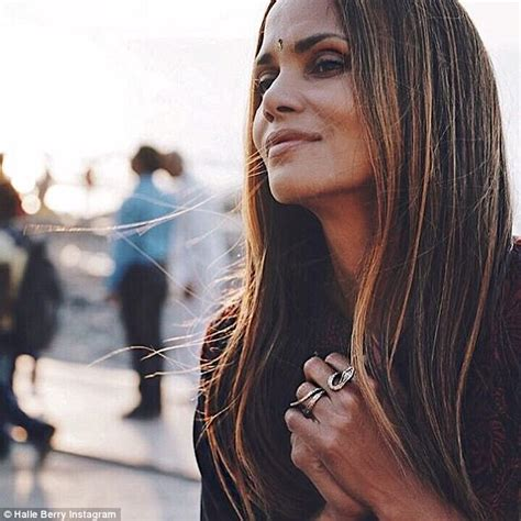 Halle Berry shares Instagram snaps from her trip to India ...