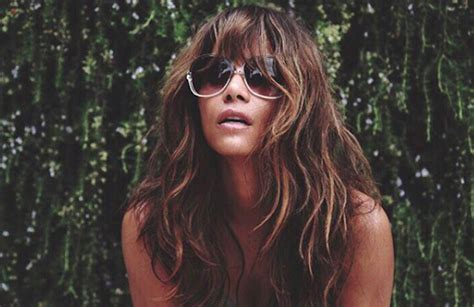 Halle Berry Wore A See Through Top On Instagram For Our ...