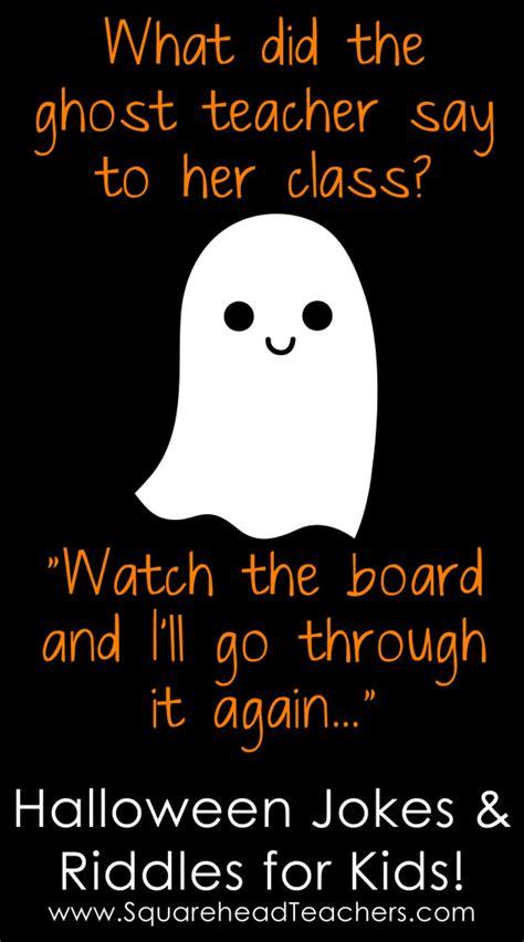 Halloween Jokes & Riddles for Kids   Squarehead Teachers