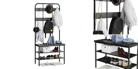 Hallway hanger + Shoe Rack With Bench  Jackets, Bag, Hat ...